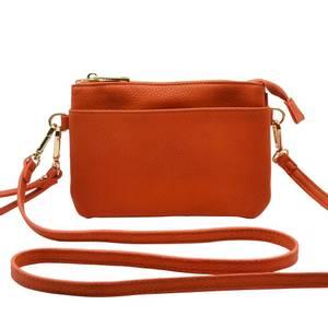 Bilde av Veske GINA zipper - orange