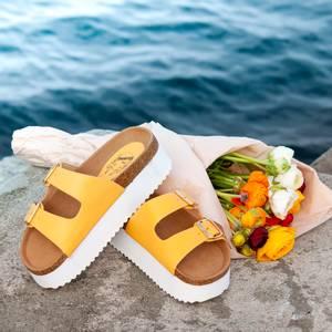 Bilde av Holly sandaler - gul
