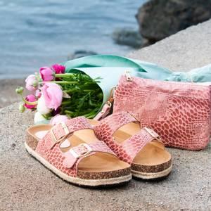 Bilde av Matchende sandal og veske