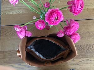 Bilde av Anna stor crossbag - cognac