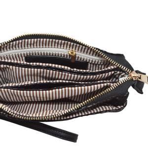 Bilde av Veske GRETA zipper - svart