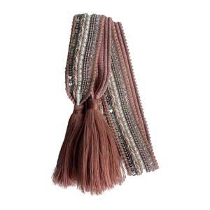 Bilde av Gammelrosa knytebelte med dusk