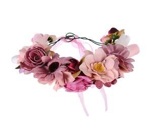 Bilde av Rosa blomsterkrans