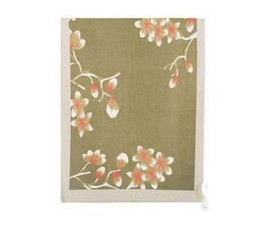 Bilde av Khaki blomster skjerf