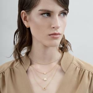 Bilde av Vanity trippel gullbelagt halskjede