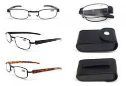 Briller sammenleggbar m/etui