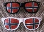 Norgesbrillen Hvit Sol