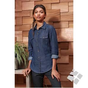 Bilde av Klassisk jeans-/Deminskjorte