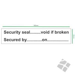 Bilde av Security seal.....etiketter a