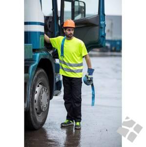 Bilde av T-skjorte KL.2 Safety gul -