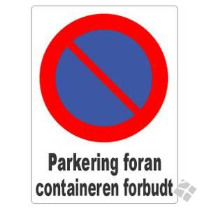 Bilde av Parkering forbudt foran