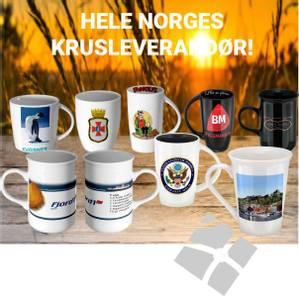 Bilde av Krus med logotrykk - 006VJ
