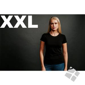 Bilde av Dame T-skjorte Charlotte, XXL