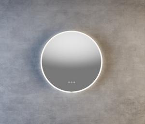 Bilde av Finden rundt speil med led lys
