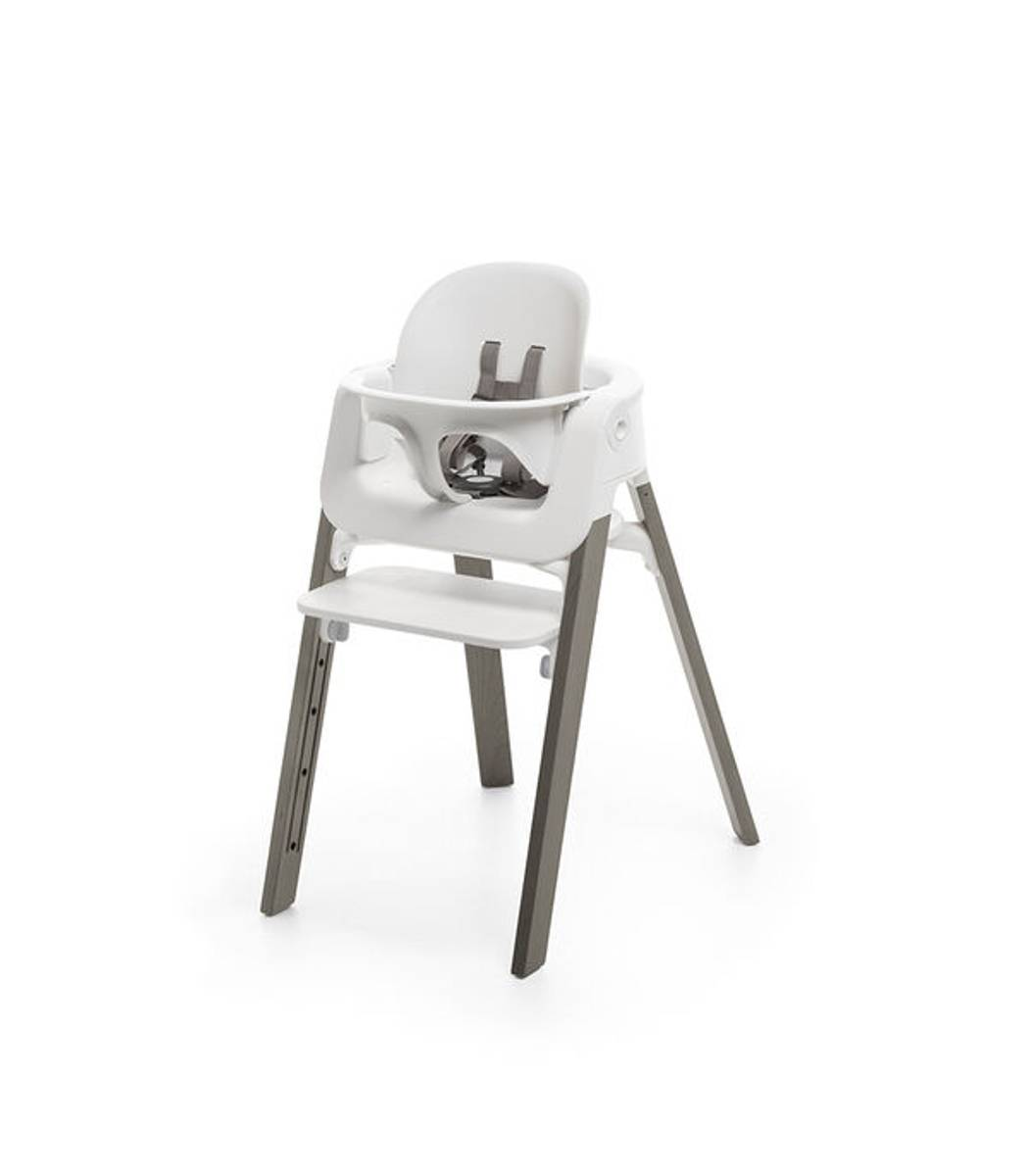 Stokke STEPS | White Hazy Grey