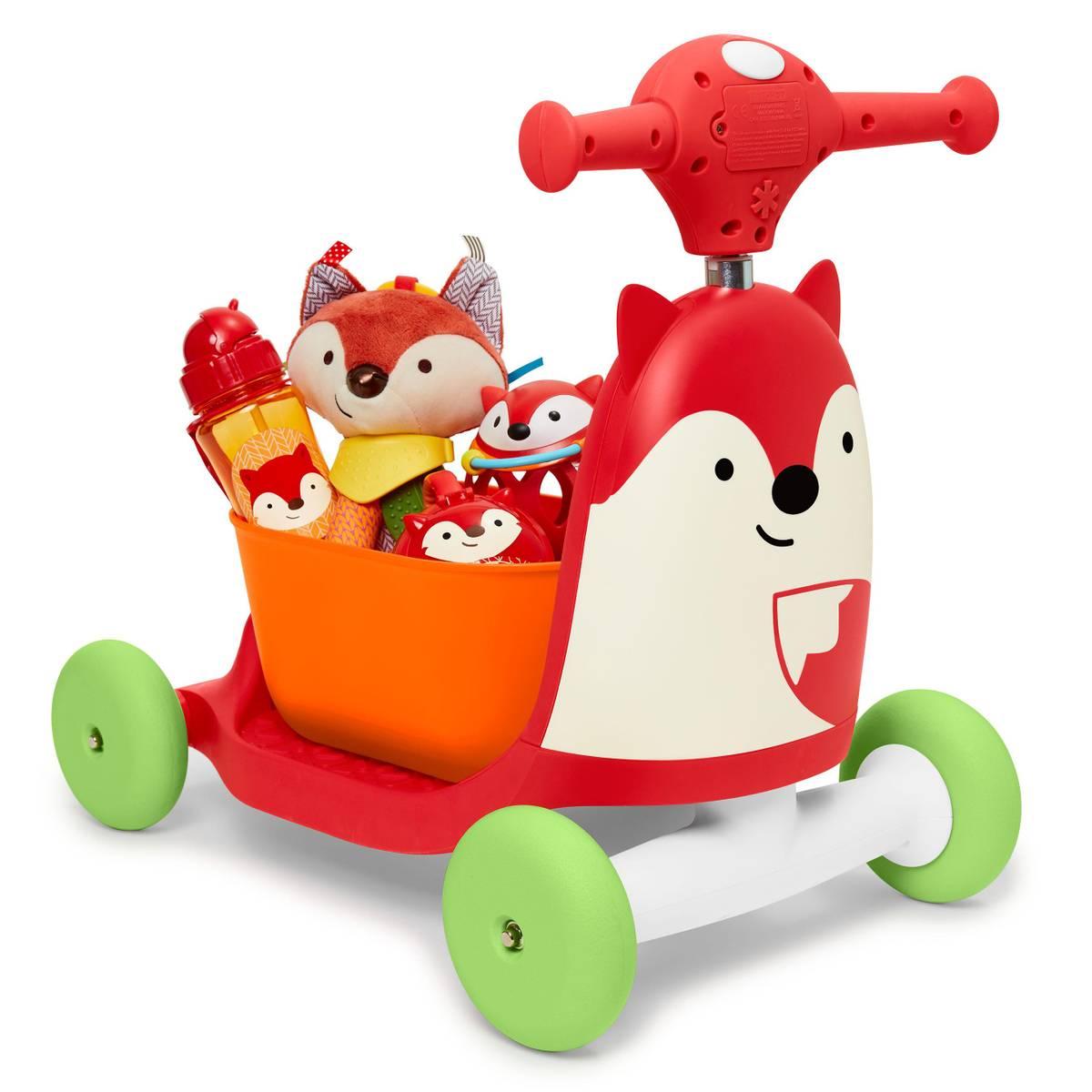 Skip Hop Zoo | Ride-On Toy 3-i-1 | Rev