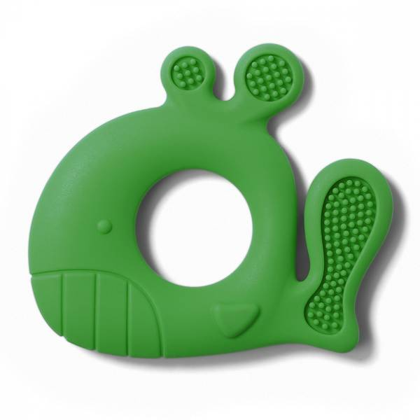 Bilde av Babyono Bitering silikon, Whale Pablo, grønn