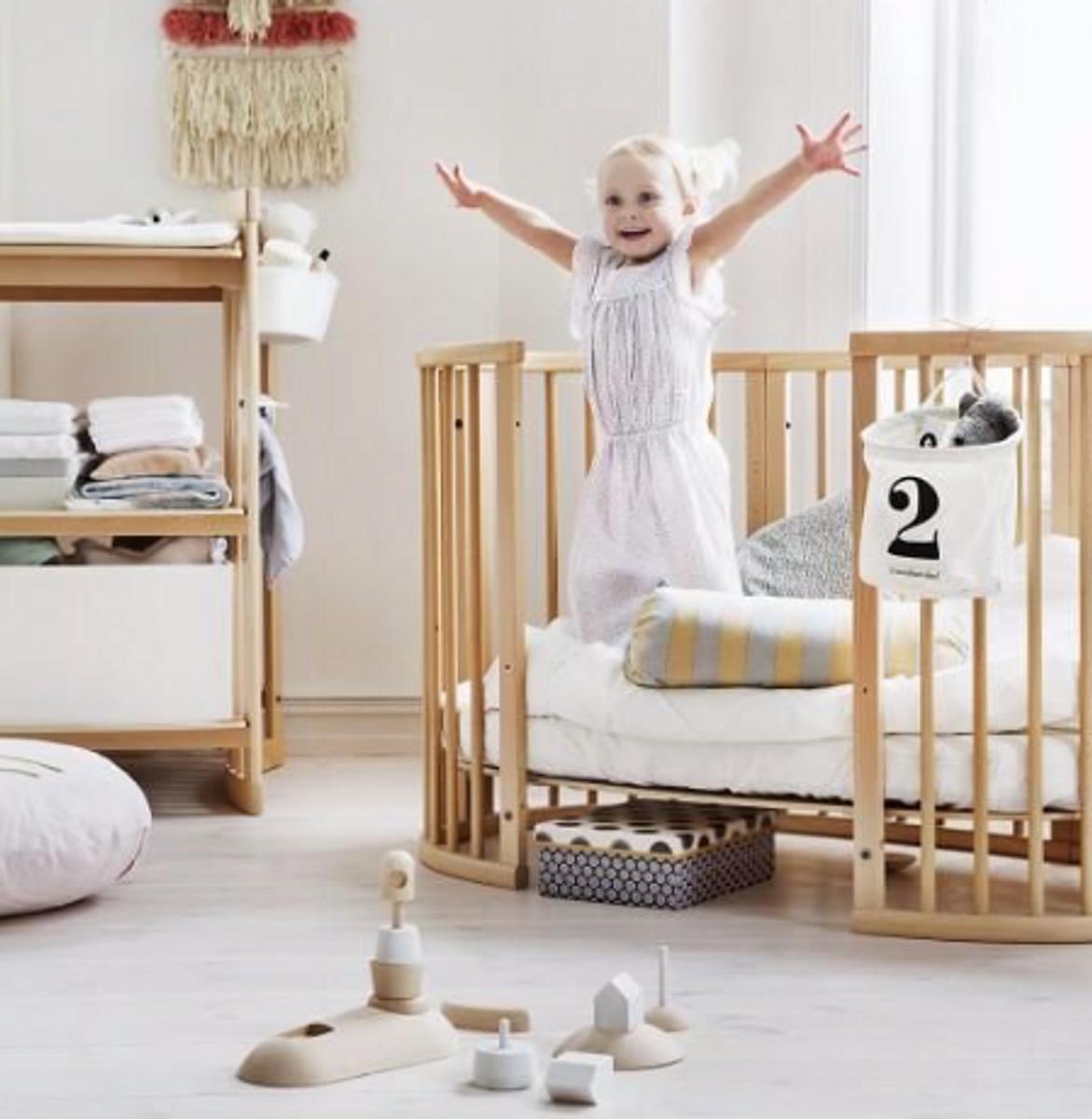 Stokke SLEEPI Bed   Natural