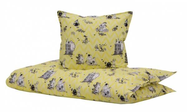 Bilde av Moomin Sengesett | 80x100 | Yellow