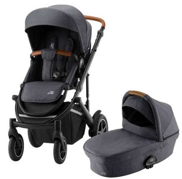 Bilde av Britax Smile 3 | Duokombivogn | Midnight Grey