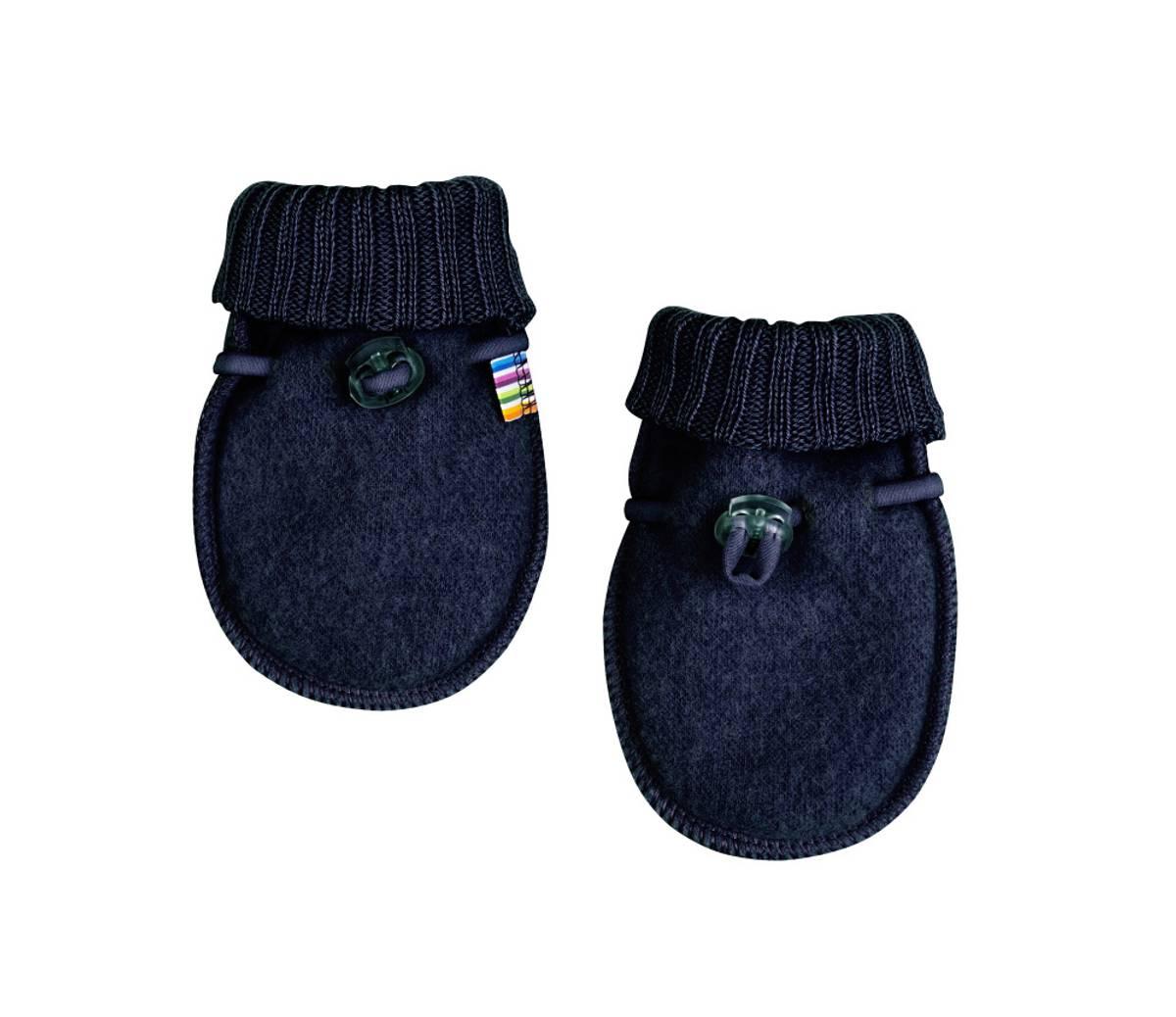 Joha Baby Votter Ull | Blue Melange