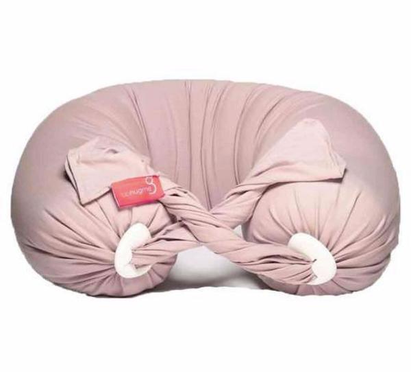 Bilde av bbhugme gravid- og ammepute Pillow DUSTY PINK/VANILLA