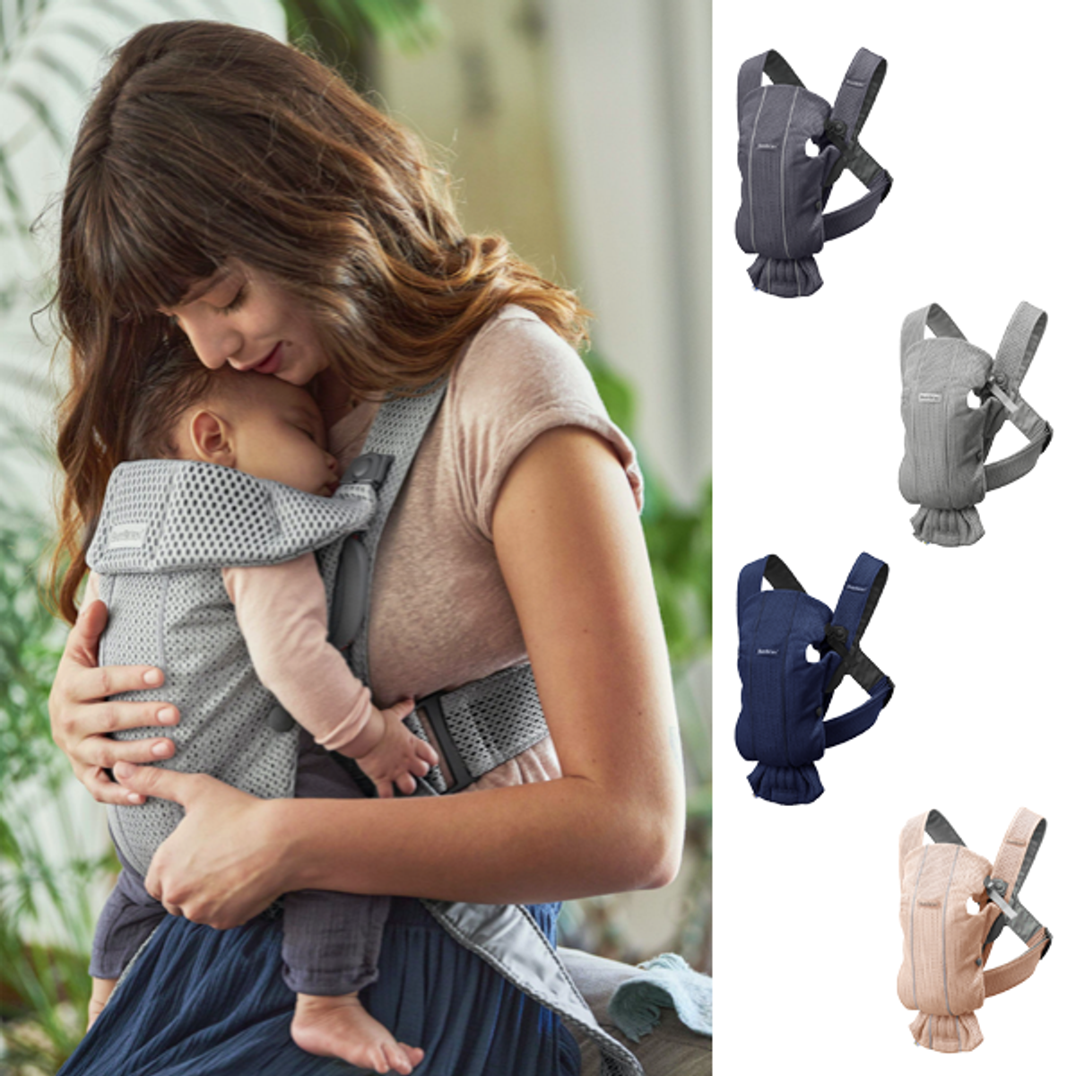 BABYBJÖRN Bæresele Mini 3D-Mesh