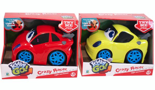 Bilde av Kiddy   Baby Lekebil   Crazy Racer