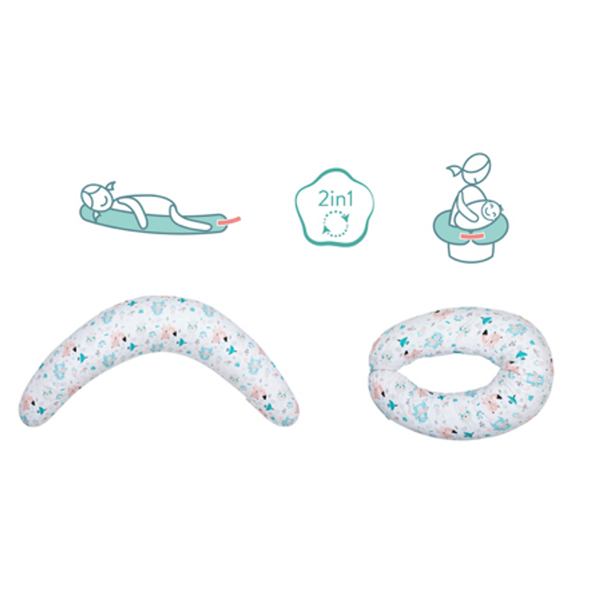 Fillikid Gravid og Ammepute | Grå