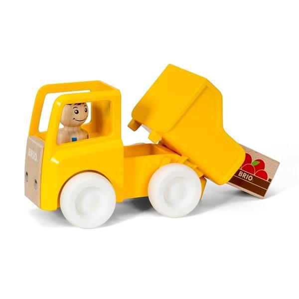 Bilde av BRIO Lastebil med last | Gul