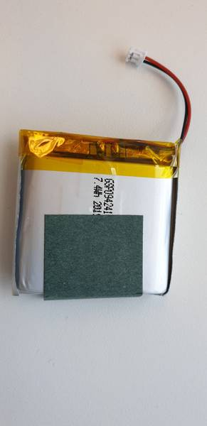 Bilde av Neonate 2000mAh Li Batteri BC8000DV