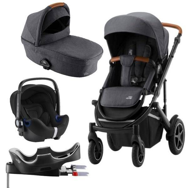 Bilde av Britax Smile 3 | Comfort Pluss Pakke | Midnight Grey