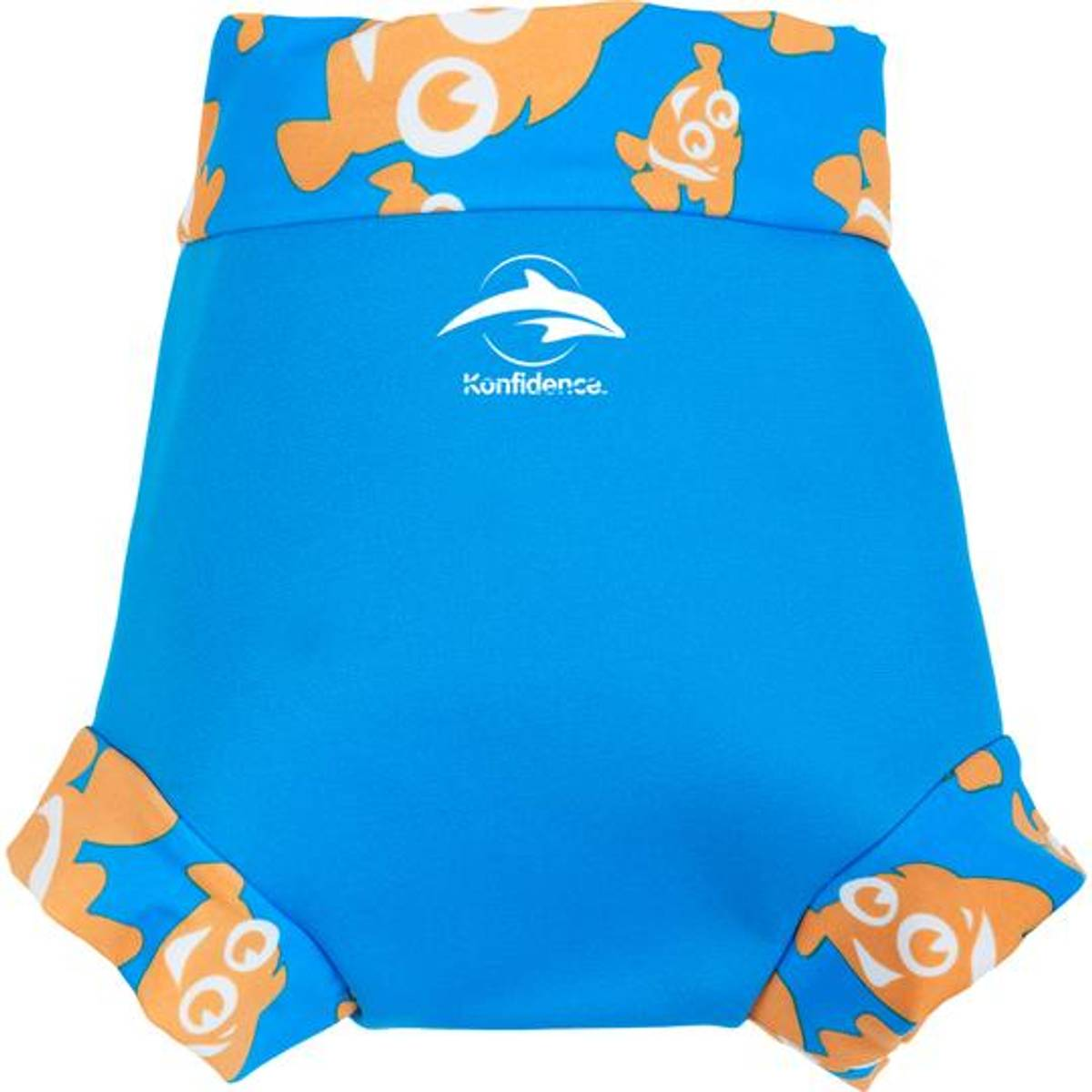 Konfidence Svømmebukse til Baby | Cyan/Clownfish | X-Large