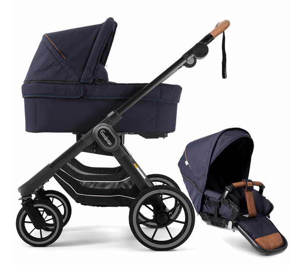 Bilde av 2021 Emmaljunga NXT90F - Kombi | Outdoor Navy | Black Outdoor