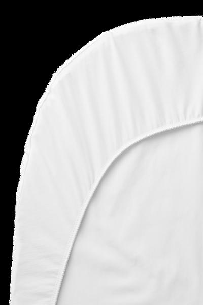 Bilde av BABYBJÖRN Laken till Vugge 72x36cm hvit organic