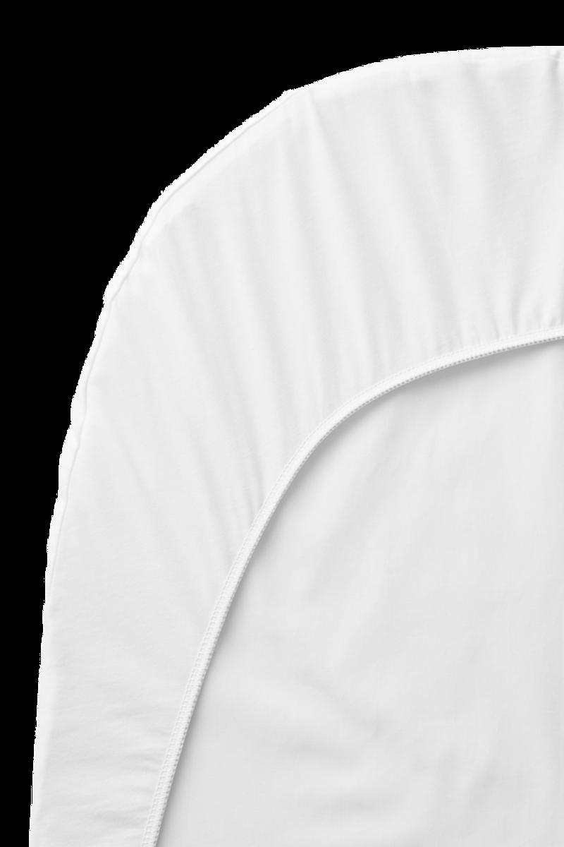 BABYBJÖRN Laken till Vugge 72x36cm hvit organic