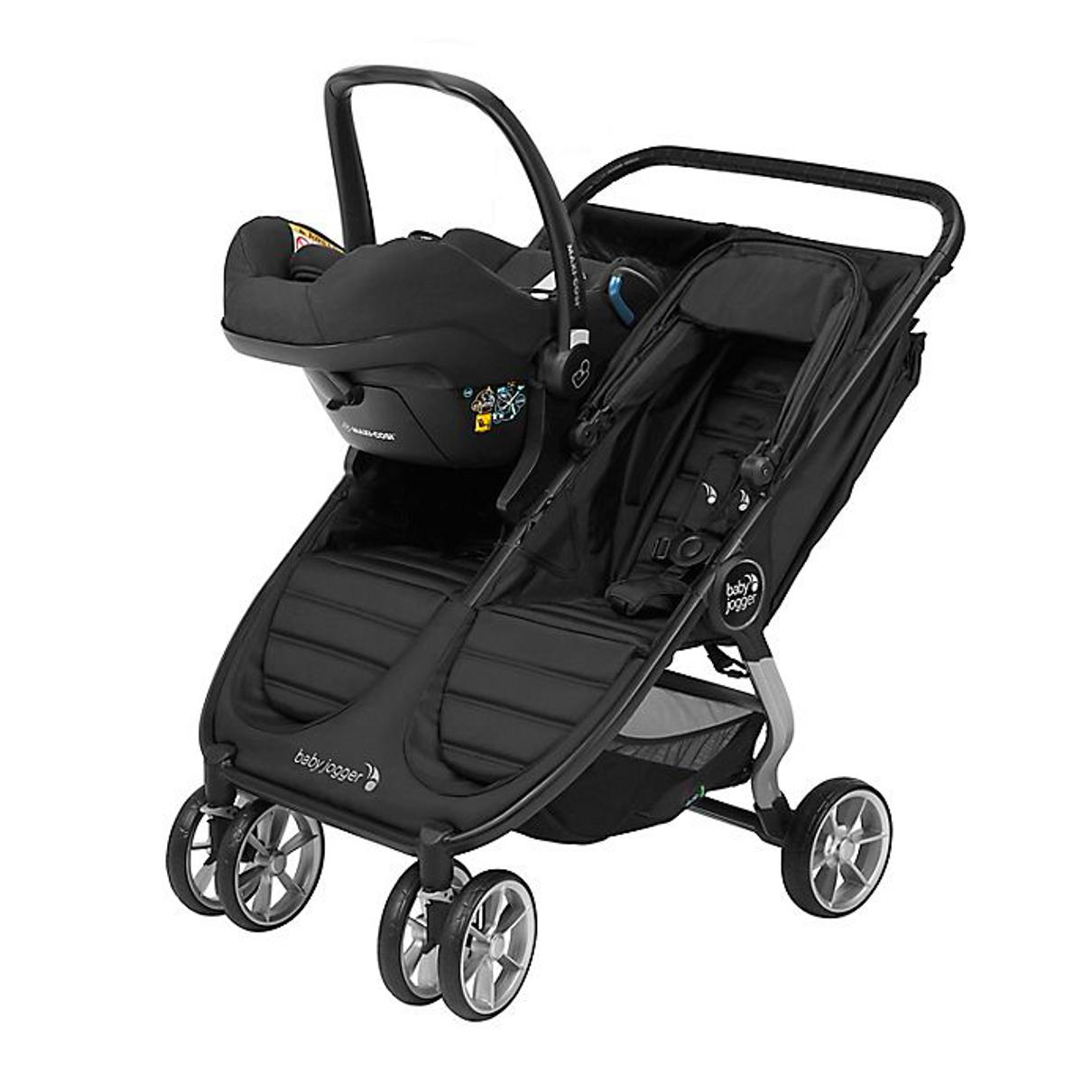 Babyjogger Bilstol Adapter Double Mini2/GT2 Maxi Cosi, BeSafe, Cybex