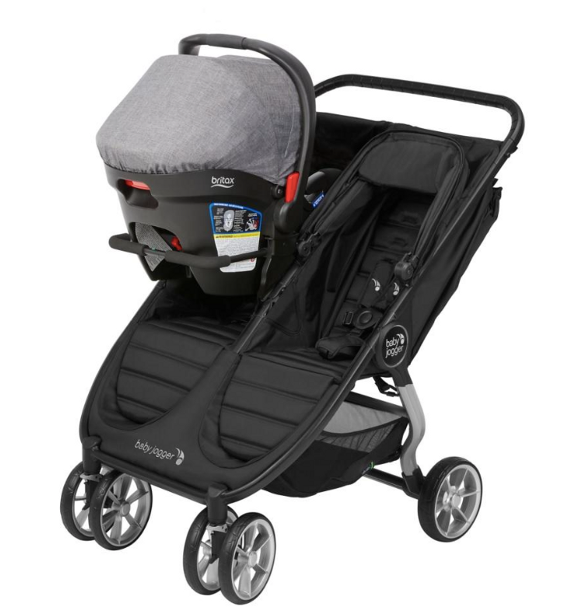 Babyjogger Bilstol Adapter Double Mini2/GT2 Britax