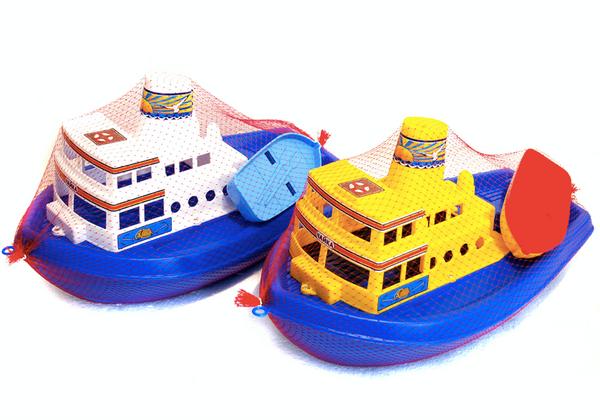 Bilde av Båt 33 cm med liten båt.