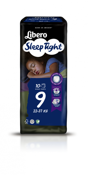 Bilde av Libero Sleep tight str. 9