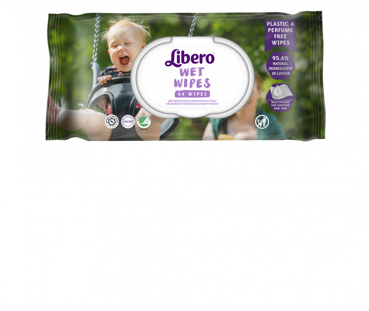 Libero Wet Wipes   64stk.