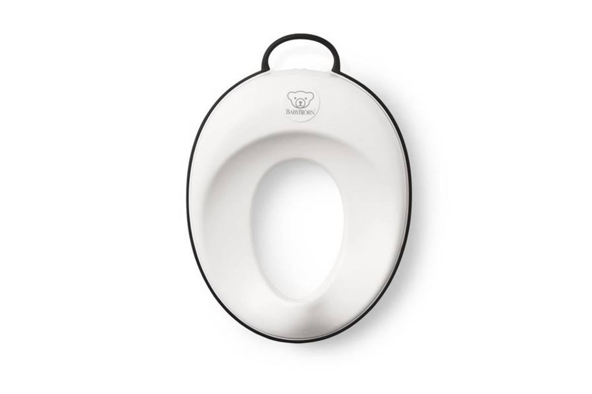 BABYBJÖRN Toalettsete Hvit/Sort