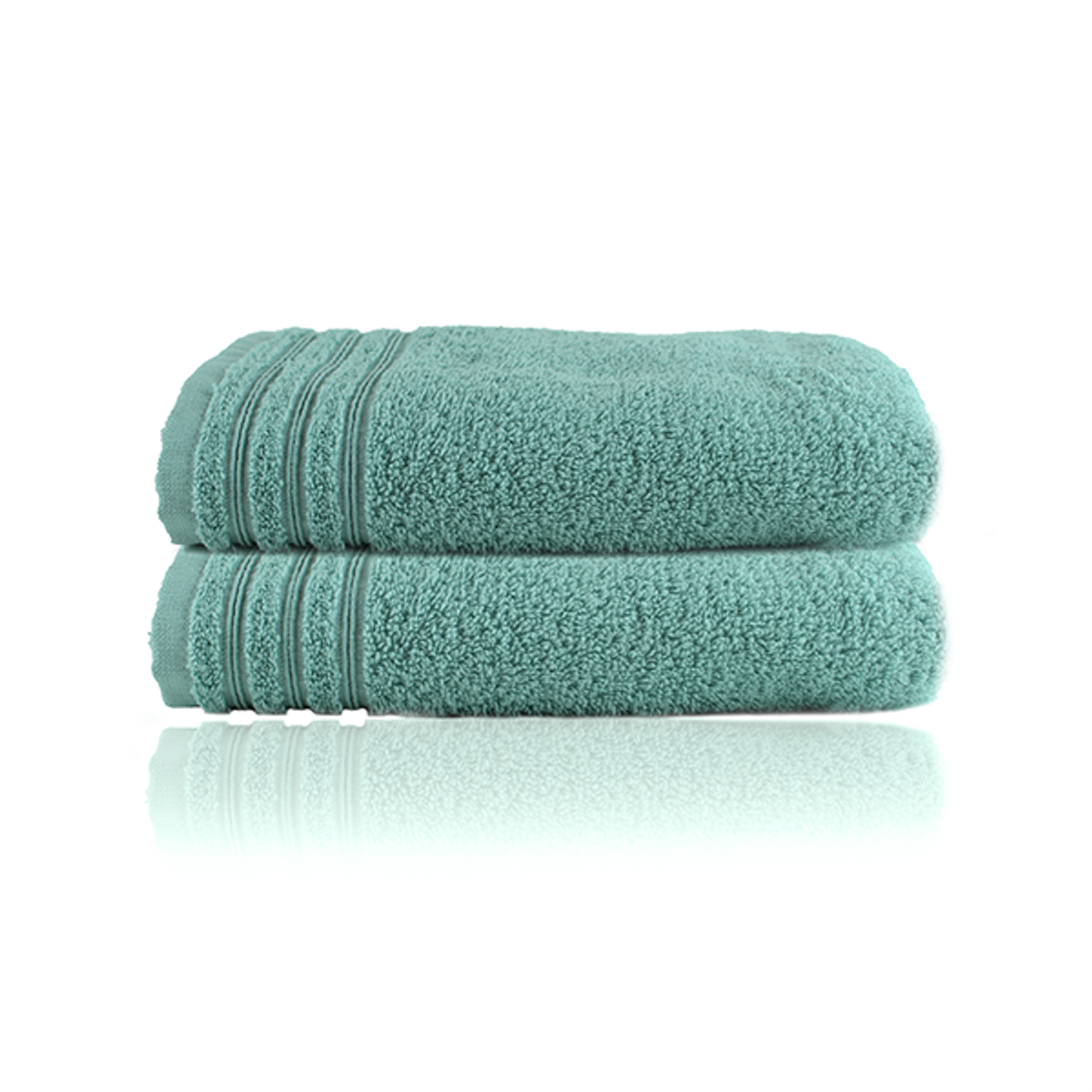 Home Stellebord håndkle 2pk. | Dusty Green