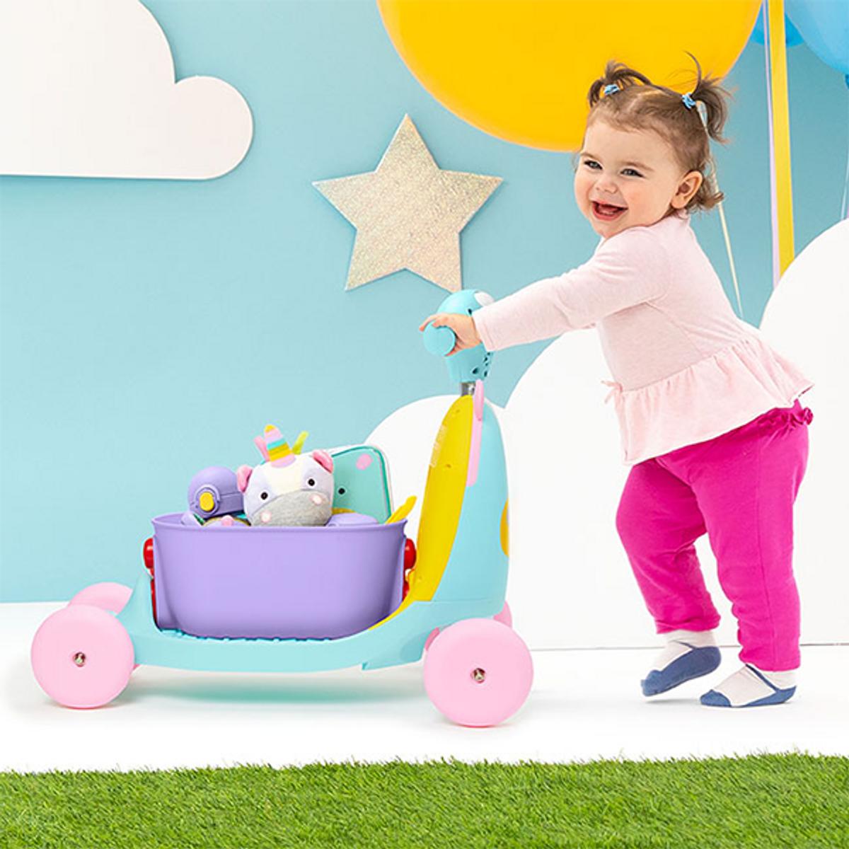 Skip Hop Zoo   Ride-On Toy 3-i-1   Enhjørning