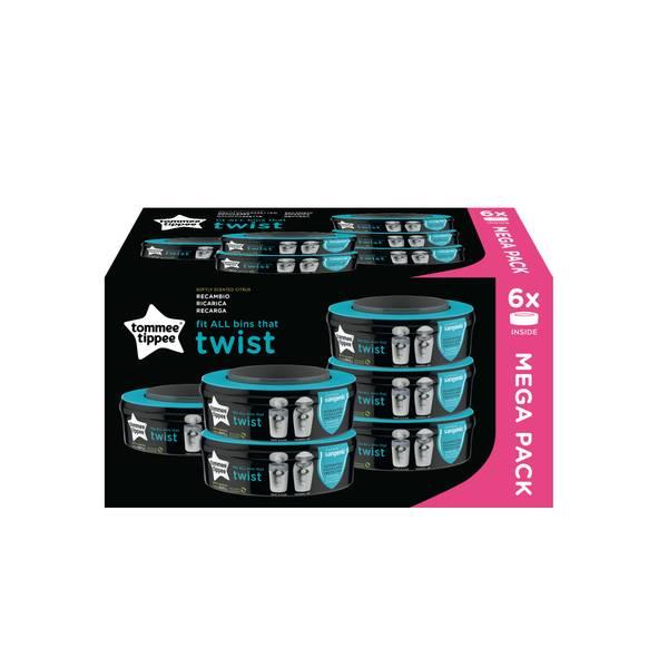 Bilde av Sangenic Twist 6pk refill
