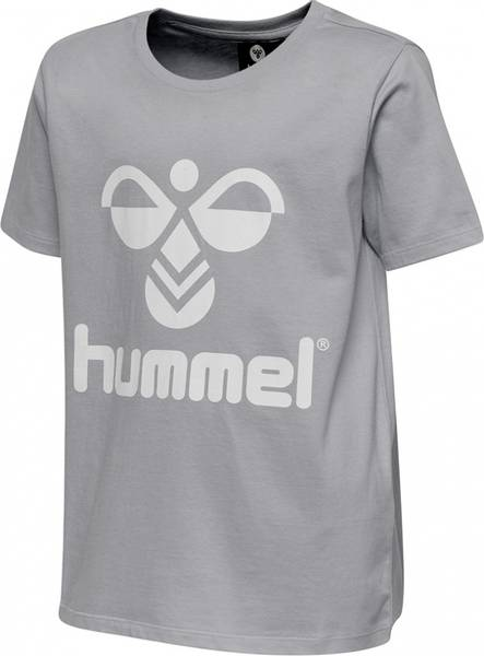 Bilde av Hummel Tres T-shirt | Grey melange