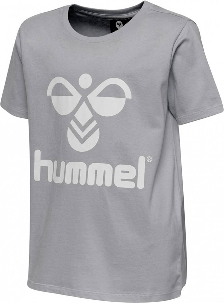 Hummel Tres T-shirt | Grey melange