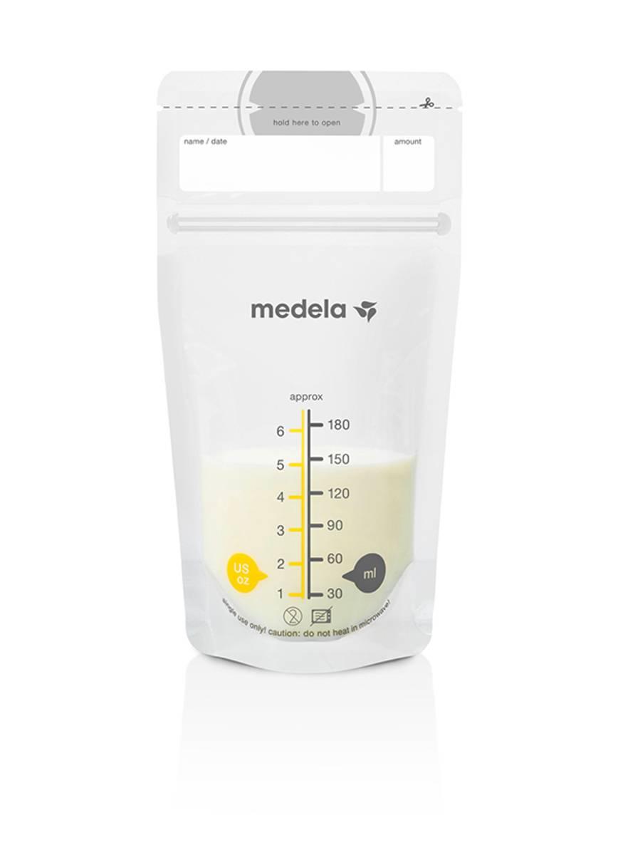 Medela Oppbevaringspose for brystmelk 180ml 25pk