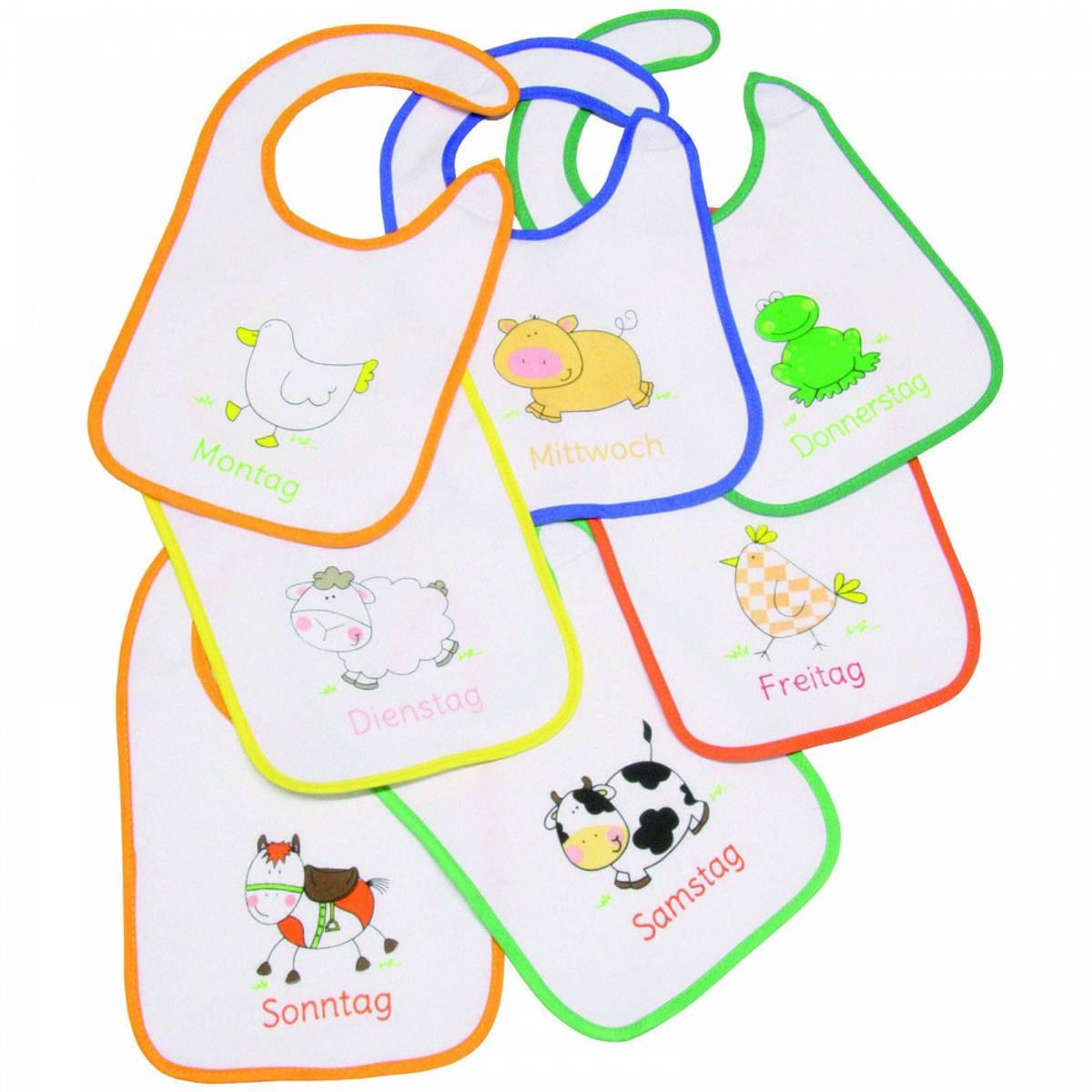 Fillikid 7 Dagers smekke Assorterte farger