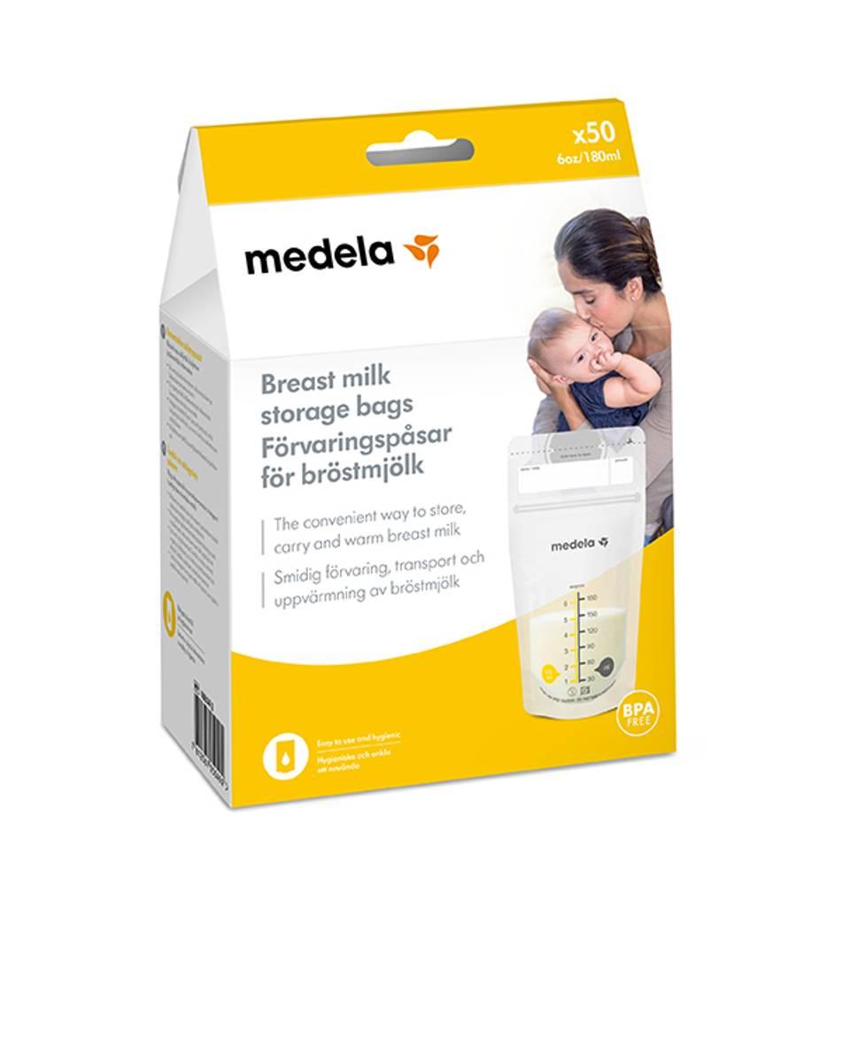 Medela Oppbevaringspose for brystmelk 180ml 50pk